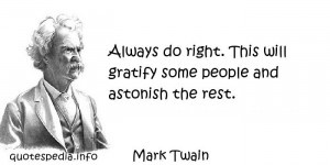 well – Doing good deeds – Personal integrity – Quotes – Quote ...
