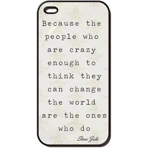 Jobs Quote Crazy apple iphone 4 case, iphone case, iphone 4s case ...