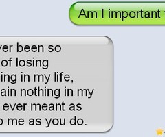 Am I Important To You - QuotePix.com - Quotes Pictures, Quotes Images ...