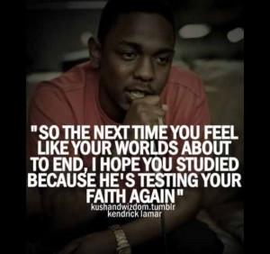 That Boi Kendrick Lamar...