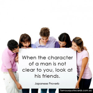 Famous Inspirational Quotes and Sayings about Character - When the ...