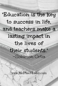 make a lasting impact in the lives of their students.