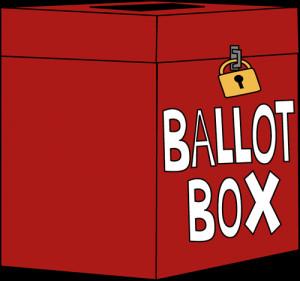 Voting Ballot Box Clip Art...