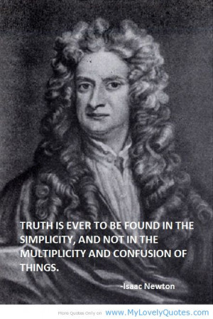 Showing Gallery For Sir Isaac Newton Quotes About Math