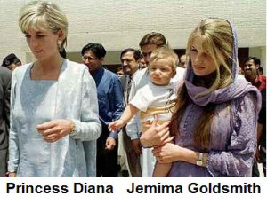 Diana Spencer - illegitimate daughter of Goldsmith?