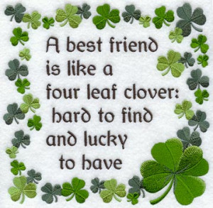 Best Friend & Four Leaf Clover