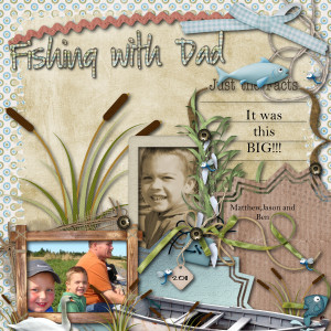 ... stmac's Home Page >> stmac's Scrapbooks >> Fishing with Dad - Page 1