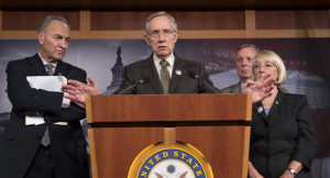 Harry Reid: Furlough back pay is 'paid vacation'
