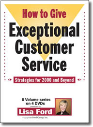 How to Give Exceptional Customer Service 2000 – DVD