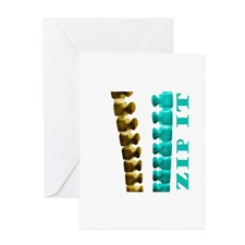 Just Zip It Greeting Cards (Pk of 10) for