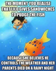 ... sadness mindfulness blown pudge the fish funny stuff butter sandwiches