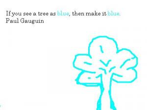 Blue Color Quotes