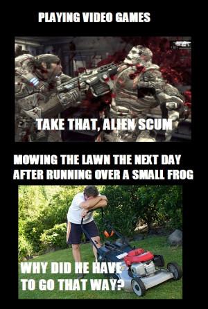 Video Game Violence vs. Real Life