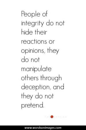 Inspirational quotes integrity
