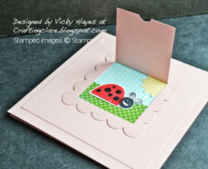 ... Vicky at Crafting Clare's Paper Moments: Peek a boo bug: Peek A Boo