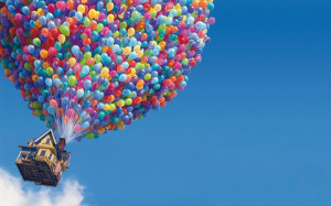 ... disney company description pixar disney company up movie baloons