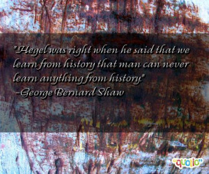 Famous World History Quotes