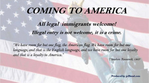 IMMIGRATION: COMING TO AMERICA!