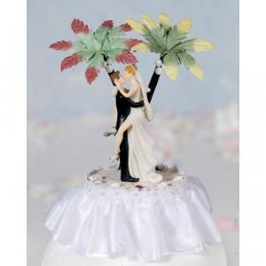 :: Wedding Essentials :: Wedding Cake Toppers :: Funny Sexy Hawaiian ...