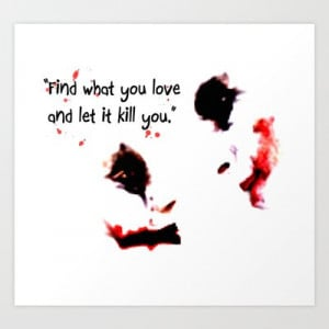 Joker Harley Quinn Love Quote digital Art Print by Justin 13 Art – $ ...