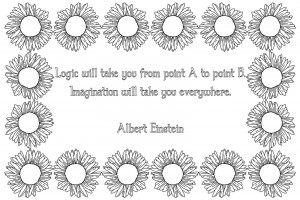 This completes my list of Einstein quotes, and demonstrates one more ...