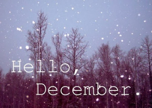... december quotes caption hello december surprise me anonymous december