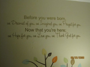 ... +for+Baby+Room | Home Baby Quotes Inspirational Baby Quotes Nursery