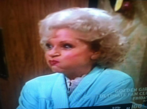 Silly Rose Nylund (Betty White) (The Golden Girls)