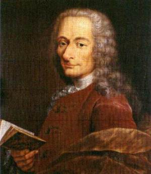 candid essay existence god voltaire