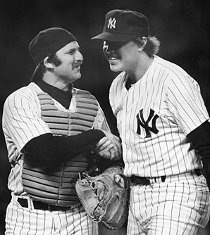 Thurman Munson and Goose Gossage during the scruffy '70s.