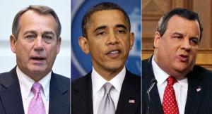 Week in one-liners: Boehner, Obama, Christie
