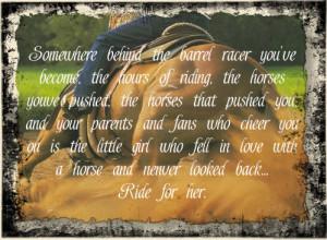 inspirational barrel racing quotes