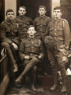 Wilfred Owen: The Peter Pan of the trenches