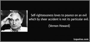 Self-Righteous Quotes