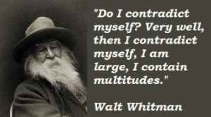 Walt whitman famous quotes 1