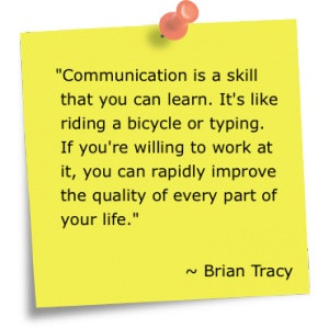 STAAK QUOTES: Communication Skills