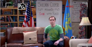 Sheldon's introduction to his Internet show.