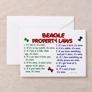 ... .comSpread some humor with these funny and TRUE Beagle Property Laws