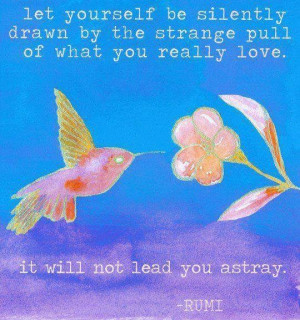 Rumi before bed. . . it soothes the soul!