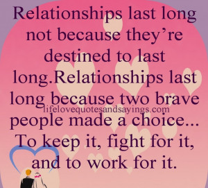 Quotes About Confused Love Feelings: RELATIONSHIPS LAST LONG NOT AS ...