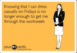 am SO GLAD it's Friday. It's been a rough week.
