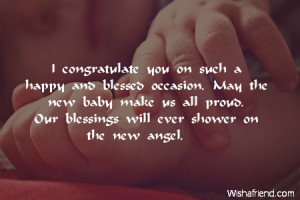 new baby prayer