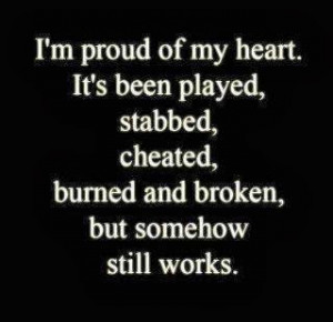 Broken Heart Quotes can help you to deal with losing your mate. They ...
