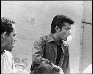 George Chakiris on the set of West side story directed by Jerome ...