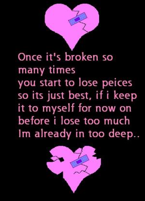 broken heart pic 3 broken heart pic 1 broken heart poem 3 broken