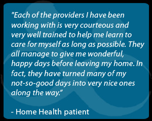 How Home Health Can Help