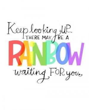 cute, rainbow, text