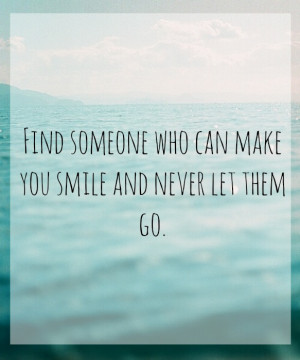 smile, let go, never, quote, quotes