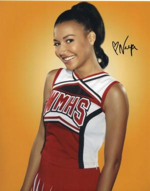 Glee Naya Rivera Santana Lopez