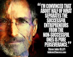 Steve Jobs Entrepreneur Picture Quote